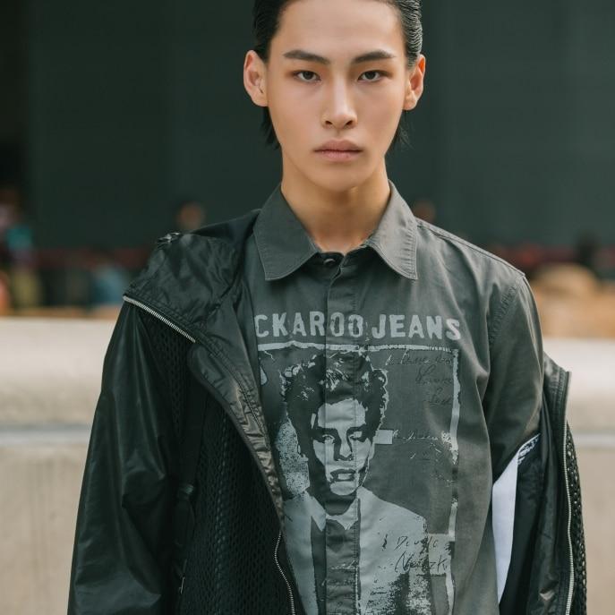 7 Variasi Rambut Belah Tengah Korea, Simpel tapi Bikin ...