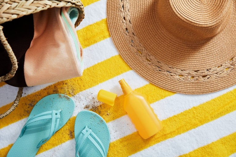 removing sunscreen stains from clothes