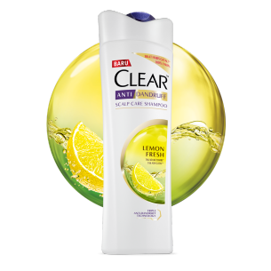 CLEAR Fresh Cool Lemon Shampoo 160 ml gambar depan kemasan