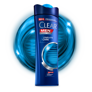 Shampo CLEAR MEN Complete Care 80 ml gambar depan kemasan