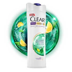 Shampo CLEAR Hairfall Treatment 160 ml gambar depan kemasan