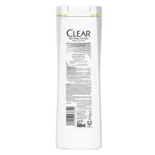 Back of shampoo pack Anti-Hairfall shampoo 90ml