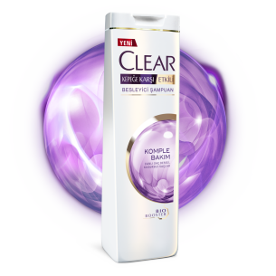 Front of shampoo pack Clear Complete Active Care Shampoo 350ml