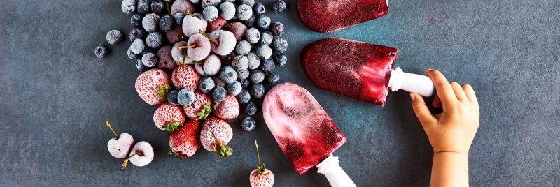 Image result for healthy homemade ice lollies