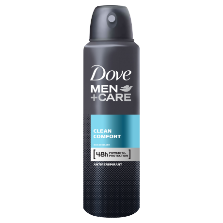 Dove Men+Care Clean Comfort Antiperspirant Deodorant Spray 150ml