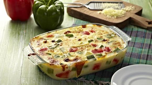 Cheese and Vegetable Gratin Recipe