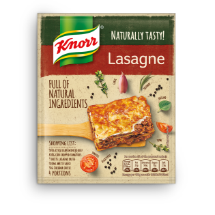 Knorr Naturally Tasty Lasagne Recipe Mix