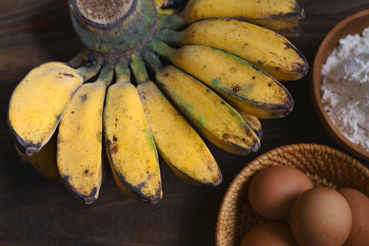 Jenis buah pisang yang bisa diolah dengan tepung dan telur