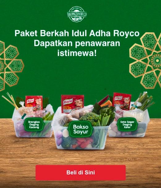 banner paket royco
