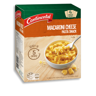Macaroni Cheese Pasta Snack