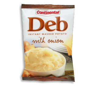 Deb Instant Mashed Potato & Onion