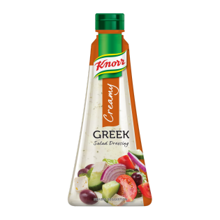 Knorr Creamy Greek Salad Dressing 340ml