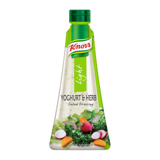 Knorr Light Yoghurt & Herb Salad Dressing 340ml