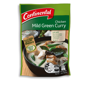 Chicken Mild Green Curry