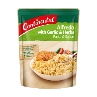 Alfredo with Garlic & Herbs