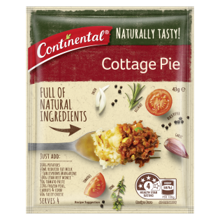 Naturally Tasty Cottage Pie