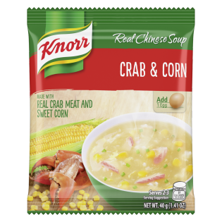 Knorr Crab and Corn Soup