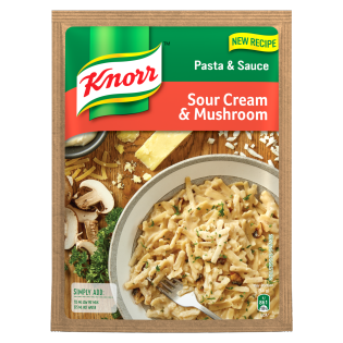 Knorr Sour Cream And Mushroom Pasta & Sauce 128gr