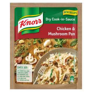 Knorr Chicken & Mushroom Dry Cook-in-Sauce 48gr