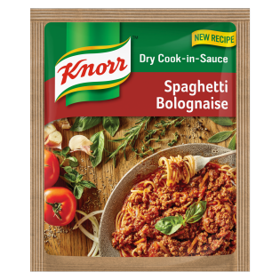Knorr Spaghetti Bolognaise Dry Cook-in-Sauce 48gr