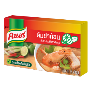Knorr TH Cube KNORR KENNEDY TOMYUM 72g