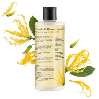 Back of body wash pack Love Beauty Planet Coconut & Ylang Ylang Body Wash Tropical Hydration 400ml