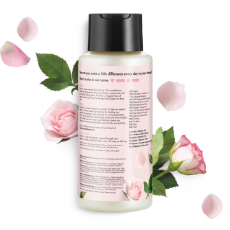 back of pack murumuru butter & rose conditioner 400ml