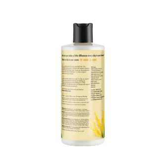 Mặt sau sữa tắm Love Beauty And Planet Coconut Oil & Ylang Ylang Tropical Refresh 400ml