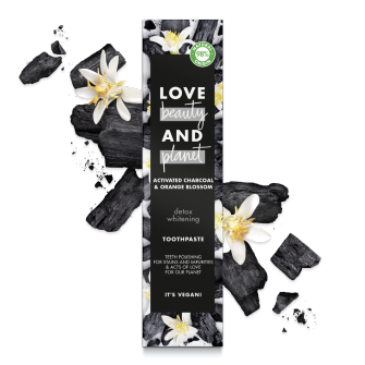 Back of Love Beauty and Planet Toothpaste Detox whitening 75ml