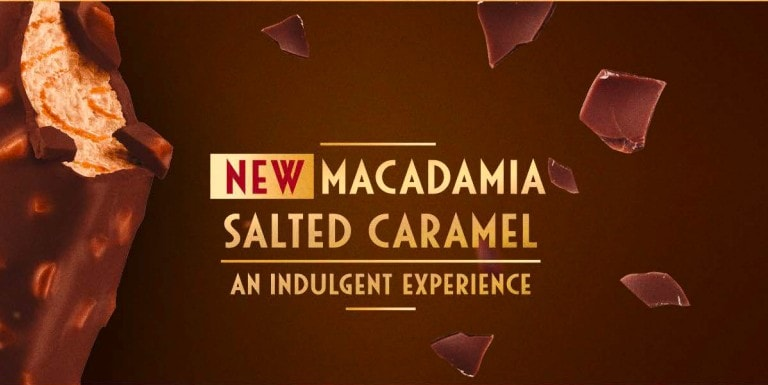 New Macadamia salted caramel hero