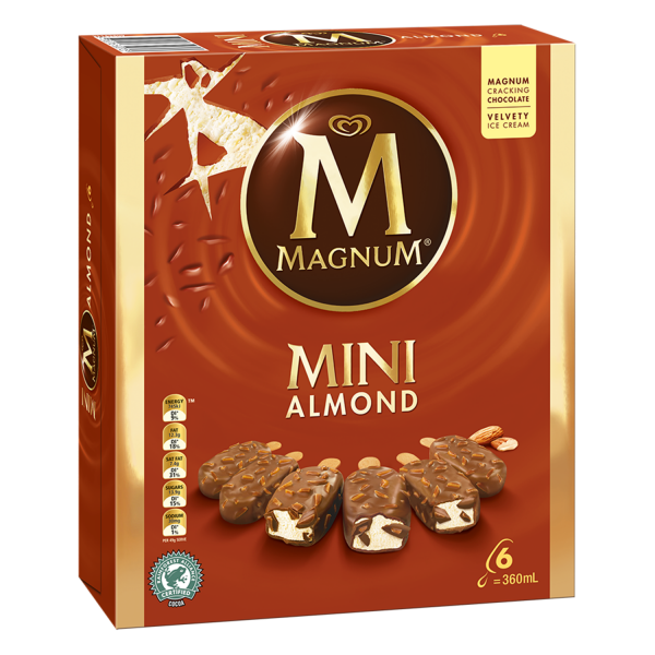 Magnum Minis Almond   Streets NZ