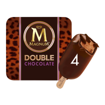 PNG - Magnum Double Chocolate Ice Cream 4 x 88ml