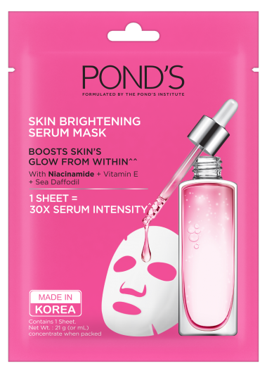 Pond's Skin Brightening Serum Mask