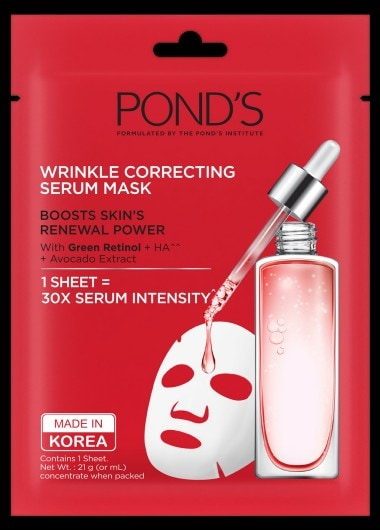 POND'S Wrinkle Correcting Serum Mask