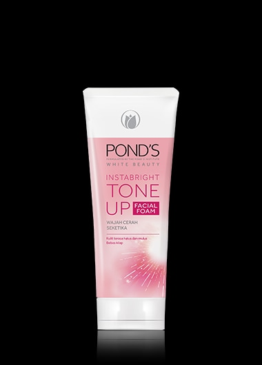 White Beauty Pond's InstaBright Tone Up Facial Foam