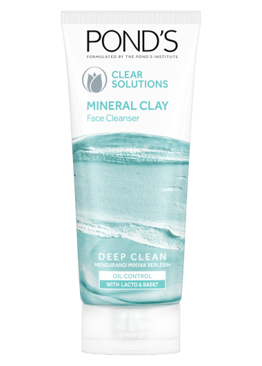 Pond's Clear Solutions Clay Foam