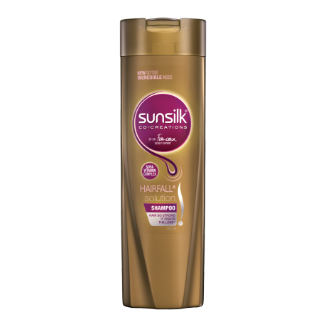 Sunsilk Hair Fall Solution Shampoo 180ml front of pack image
