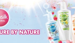 Sunsilk natural banner