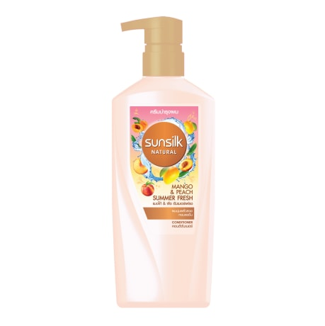 Sunsilk Natural Mango & Peach Summer Fresh Conditioner 450mL