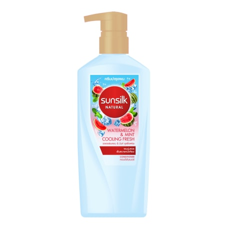 Sunsilk Natural Watermelon & Mint Cooling Fresh Conditioner 450mL