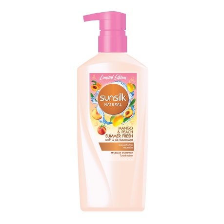 Sunsilk Natural Mango & Peach Summer Fresh Shampoo 450mL