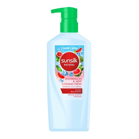 Sunsilk Natural Watermelon & Mint Cooling Fresh Shampoo 450mL