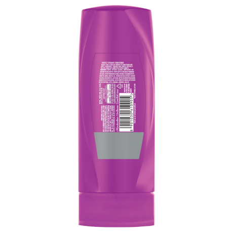 A bottle of  Perfect Straight Conditioner 80ml back of pack image