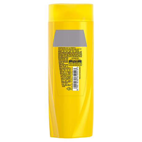A bottle of Nourishing Soft & Smooth Shampoo 80mlback of pack image