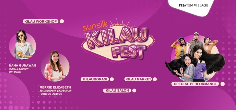 sunsilk kilau fest 2017