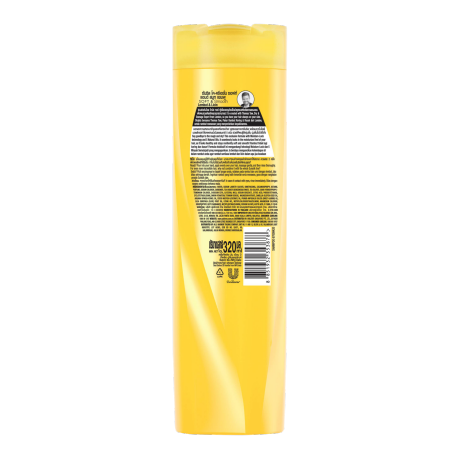 Sunsilk Soft and Smooth Shampoo 320ml back of pack image
