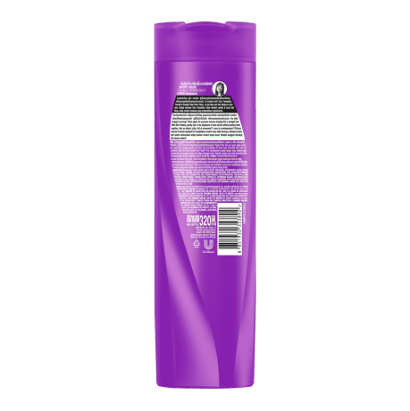Sunsilk Perfect Straight Shampoo 320ml back of pack image