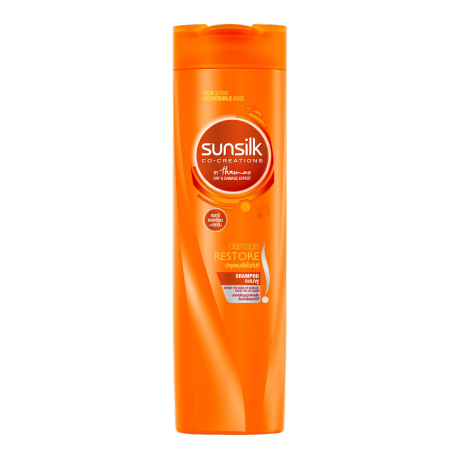 Sunsilk Damage Restore Shampoo 320ml front of pack image