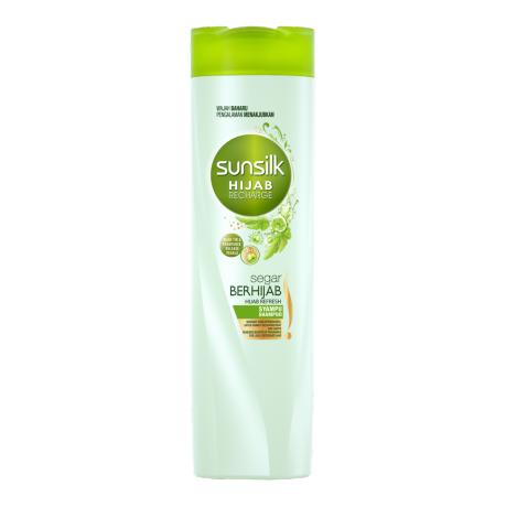 Sunsilk Hijab Recharge Segar Berhijab Shampoo 320ml front of pack image