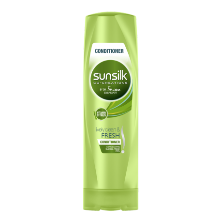 Perapi Lively Clean and Fresh Sunsilk 320ml imej di hadapan pek
